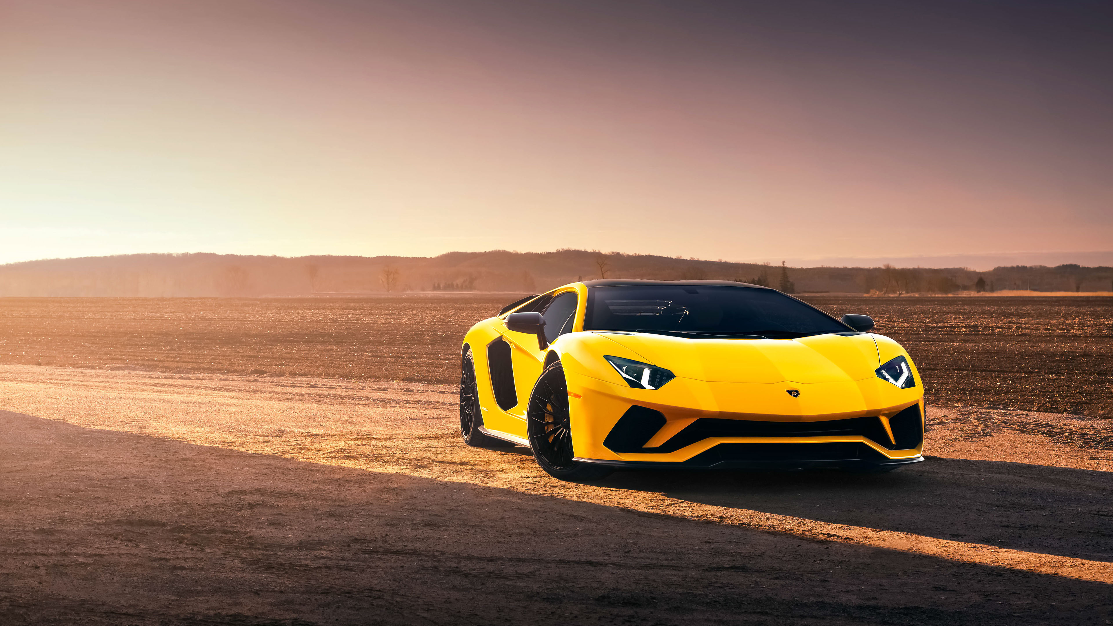 Lamborghini Aventador S 4k Ultra Hd Wallpaper Background