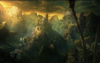 Fantasy - Landschaft Wallpapers and Backgrounds ID : 95536