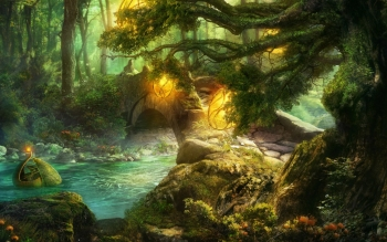 Fantasy - Skog Wallpapers and Backgrounds ID : 95624