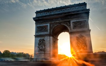 Man Made - Arc De Triomphe Wallpapers and Backgrounds ID : 95696