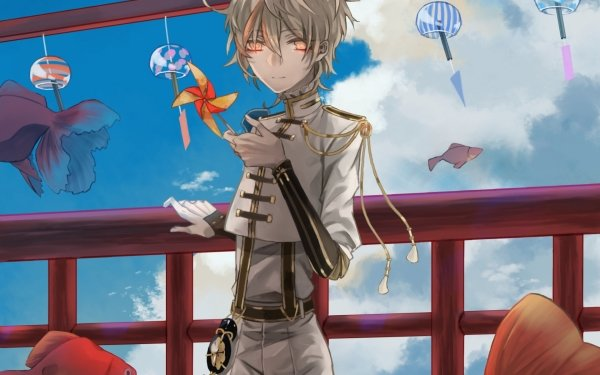 Anime Touken Ranbu Monoyoshi Sadamune HD Wallpaper | Background Image