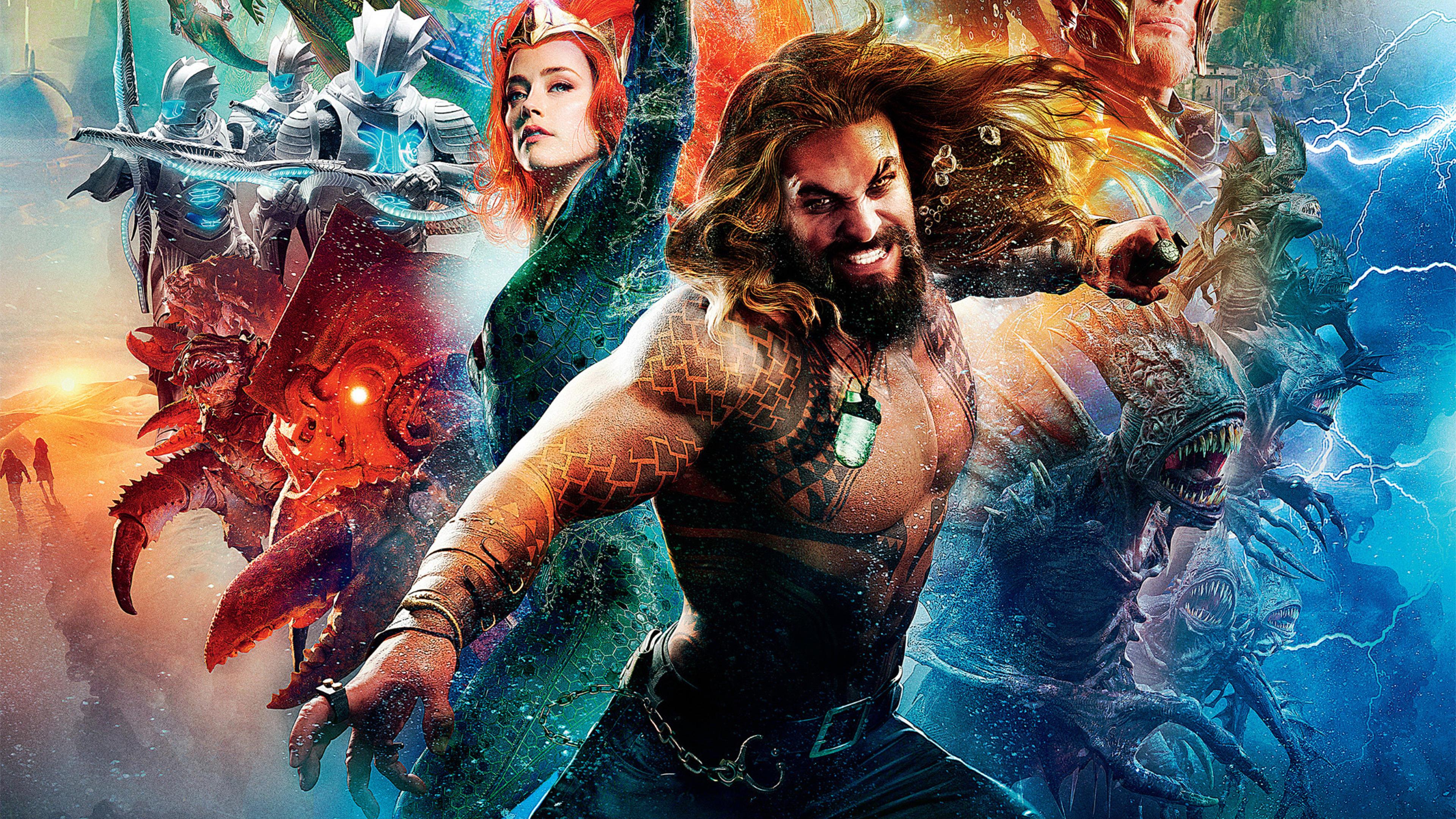 Aquaman 4k Ultra Hd Wallpaper Background Image 3840x2160 Id