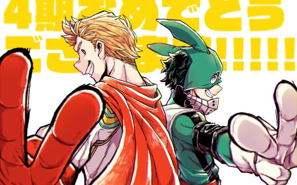 Anime My Hero Academia Izuku Midoriya Mirio Togata HD Wallpaper | Background Image