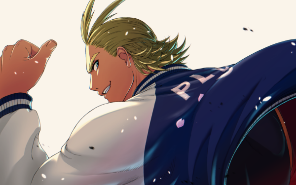 Anime My Hero Academia All Might Toshinori Yagi HD Wallpaper | Background Image