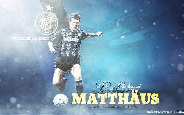 Sports Lothar Matthäus Soccer Player HD Wallpaper | Background Image