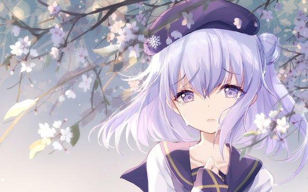 Anime Warship Girls Yukikaze Crying HD Wallpaper   Background Image