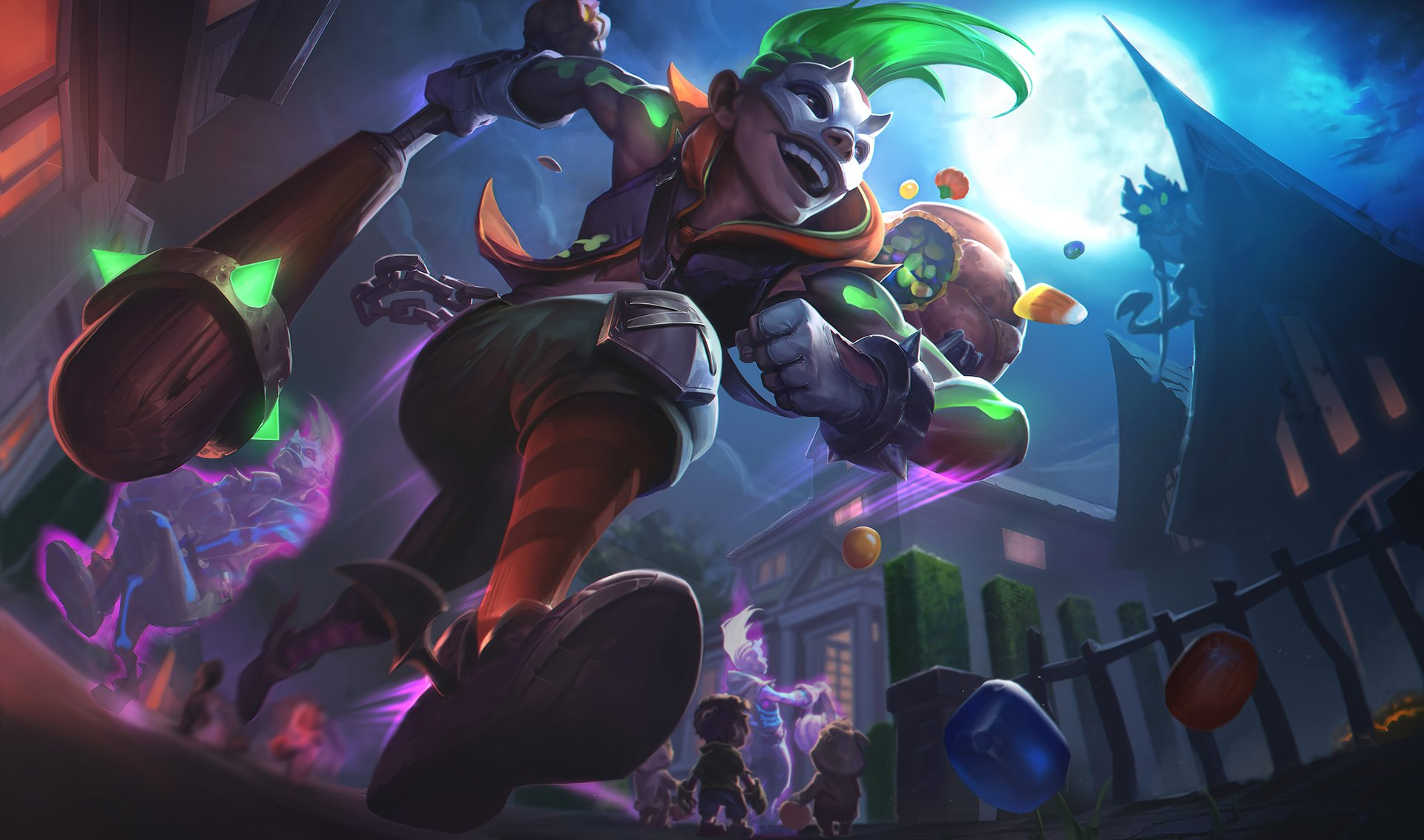 Trick Or Treat Ekko Fondo De Pantalla Hd Fondo De
