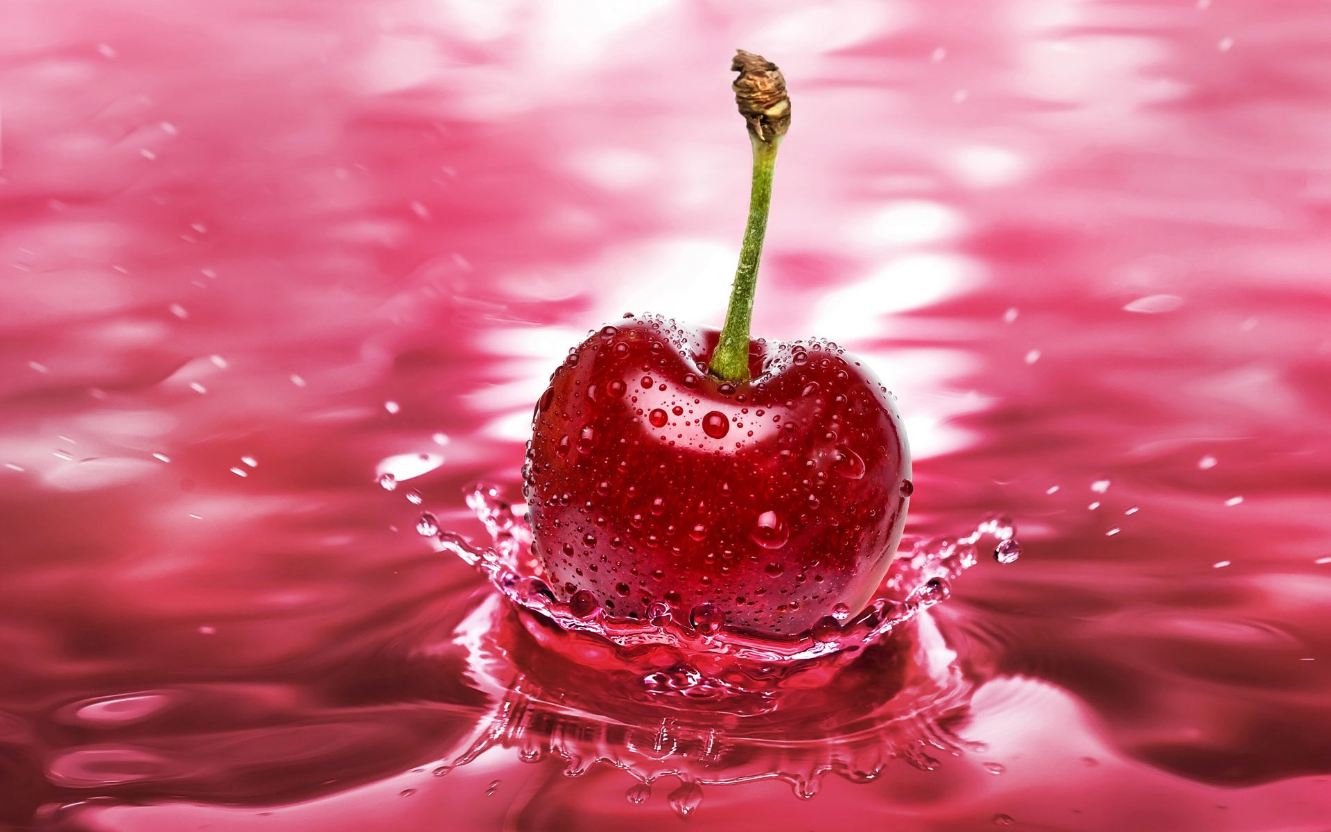 Food - Cherry  Ballet Fruit Water Wallpaper