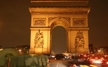 Man Made - Arc De Triomphe Wallpapers and Backgrounds ID : 95956