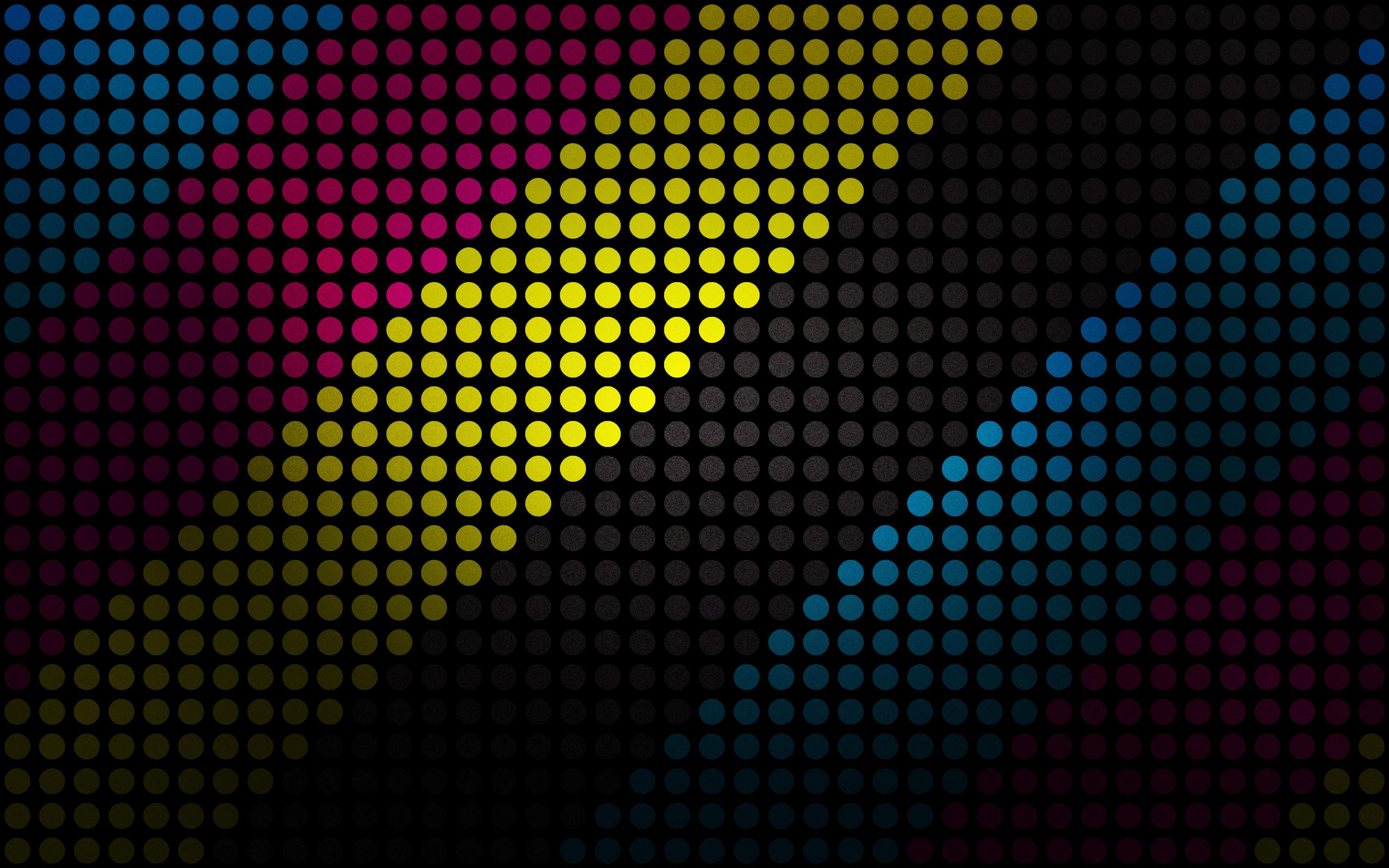 Dots Of Color HD Wallpaper