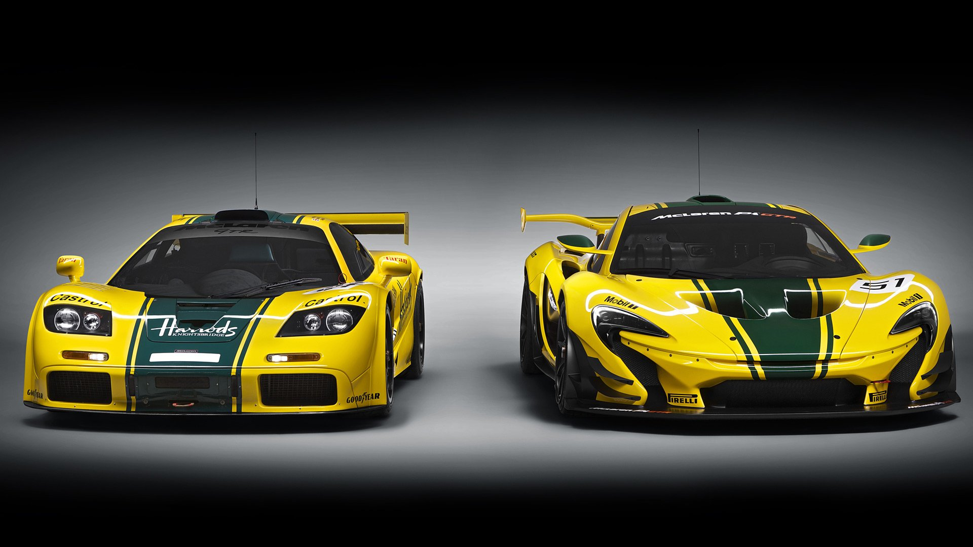 9db02fc489fc55 2015 McLaren P1 GTR HD Wallpaper