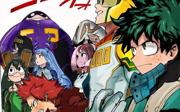 Anime My Hero Academia Izuku Midoriya Mirio Togata Ochaco Uraraka Eijiro Kirishima Tsuyu Asui Shouta Aizawa Nejire Hado Tamaki Amajiki Taishiro Toyomitsu HD Wallpaper | Background Image