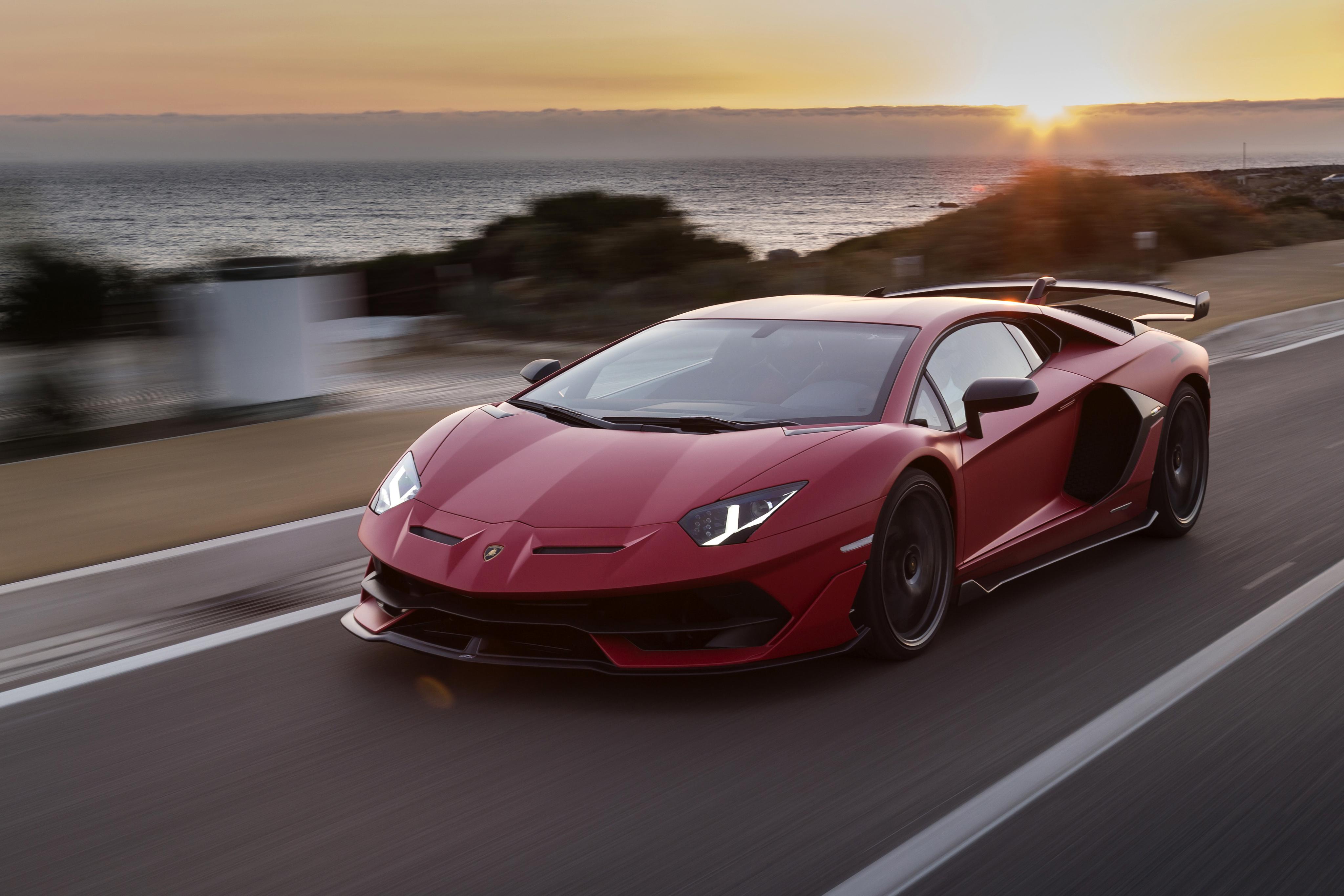 Lamborghini Aventador Svj 4k Ultra Hd Wallpaper Background Image