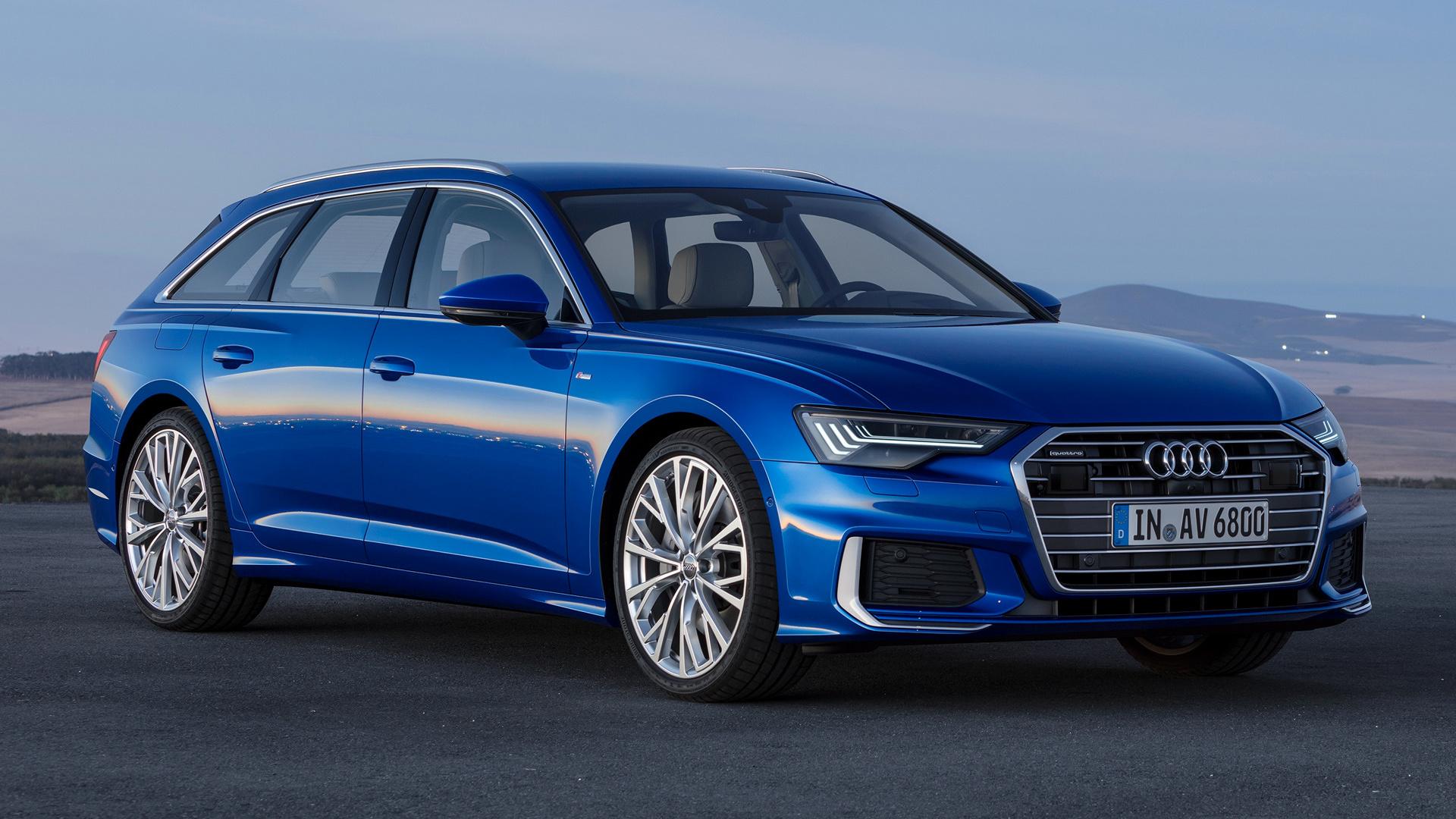 2018 Audi A6 Avant S Line Hd Wallpaper Background Image