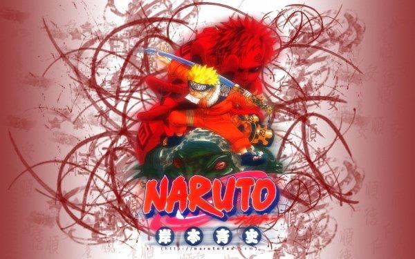Anime Naruto Gaara Naruto Uzumaki HD Wallpaper | Background Image