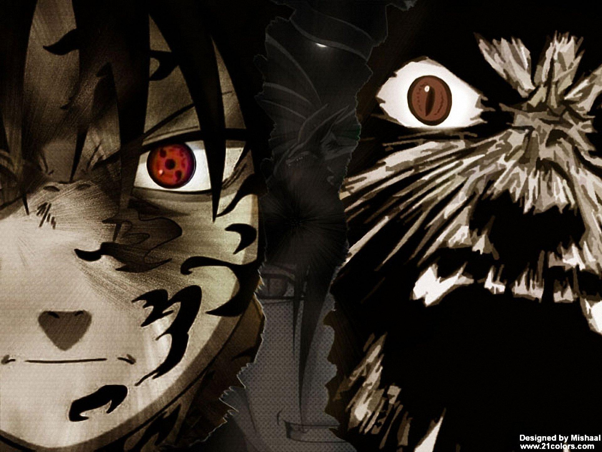 Anime - Naruto  Naruto Uzumaki Sasuke Uchiha Wallpaper