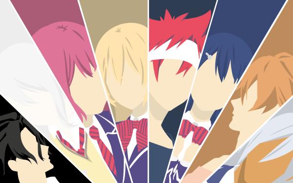 Anime Food Wars: Shokugeki no Soma Sōma Yukihira Erina Nakiri Alice Nakiri Hisako Arato Megumi Tadokoro Akira Hayama Ryō Kurokiba Satoshi Isshiki HD Wallpaper | Background Image
