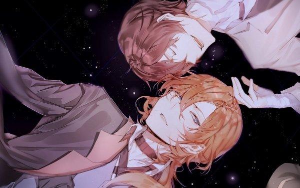 Anime Bungou Stray Dogs Chuya Nakahara Osamu Dazai Sokouku HD Wallpaper | Background Image