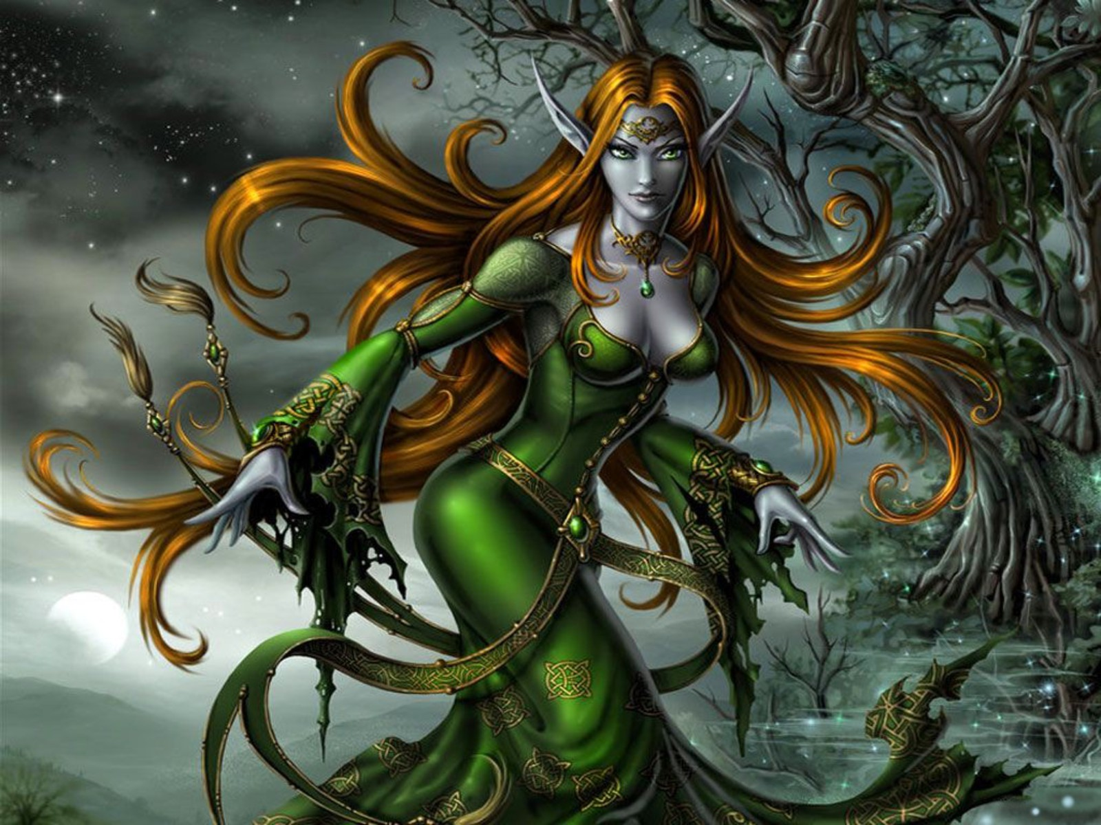 green elf wallpaper and background 1600x1200 id 96694