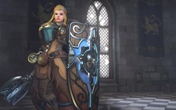 Video Game Overwatch Brigitte HD Wallpaper   Background Image