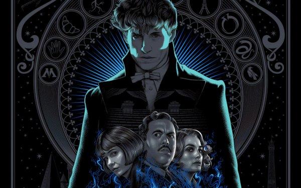 Movie Fantastic Beasts: The Crimes of Grindelwald Katherine Waterston Eddie Redmayne HD Wallpaper | Background Image