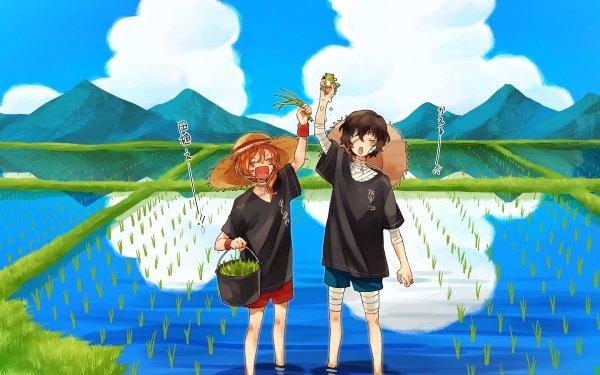 Anime Bungou Stray Dogs Osamu Dazai Chuuya Nakahara HD Wallpaper | Background Image