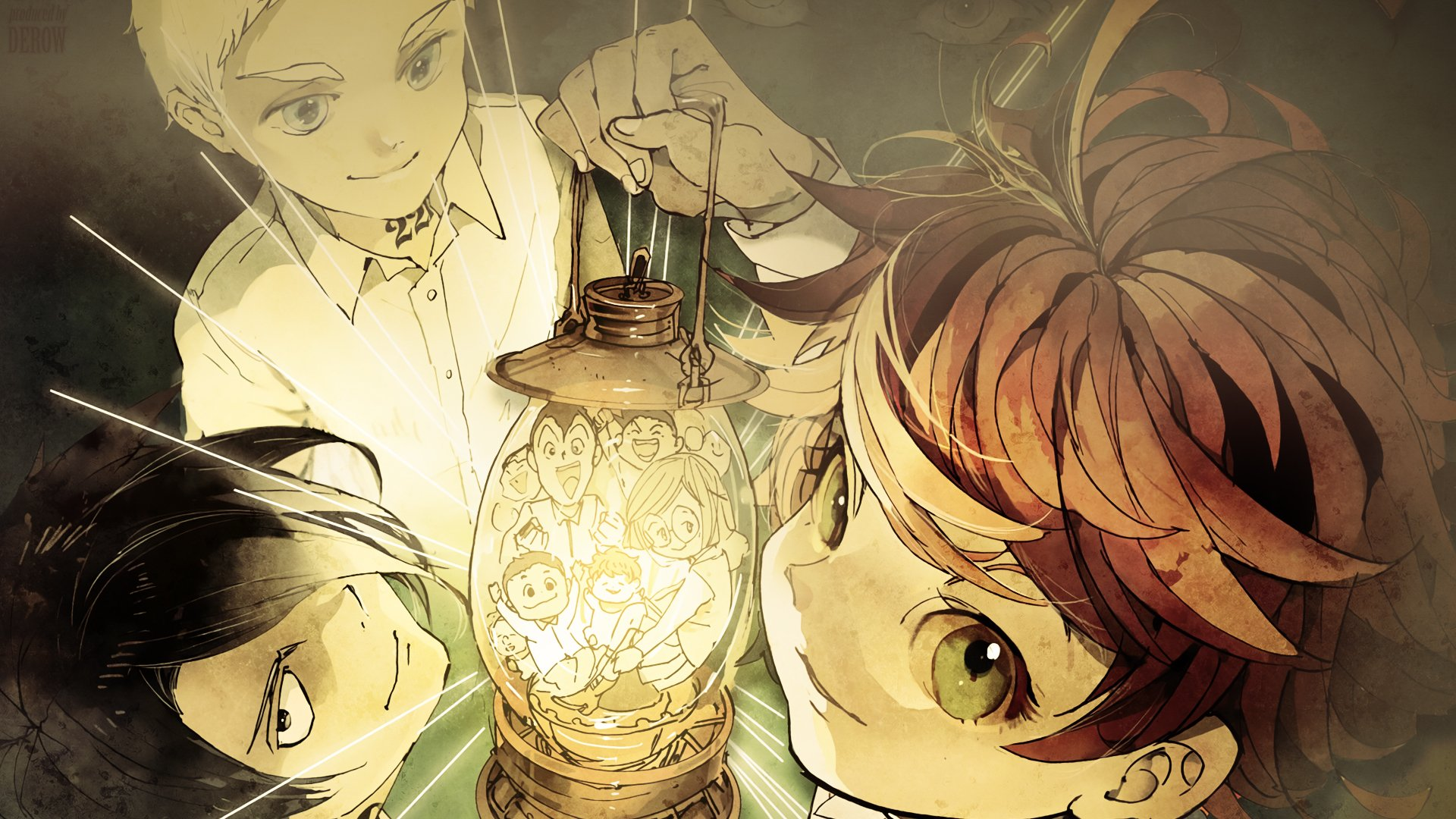 The Promised Neverland HD Wallpaper | Background Image ...