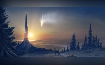 Fantasy - City Wallpapers and Backgrounds ID : 96746