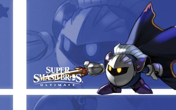 Video Game Super Smash Bros. Ultimate Meta Knight HD Wallpaper | Background Image