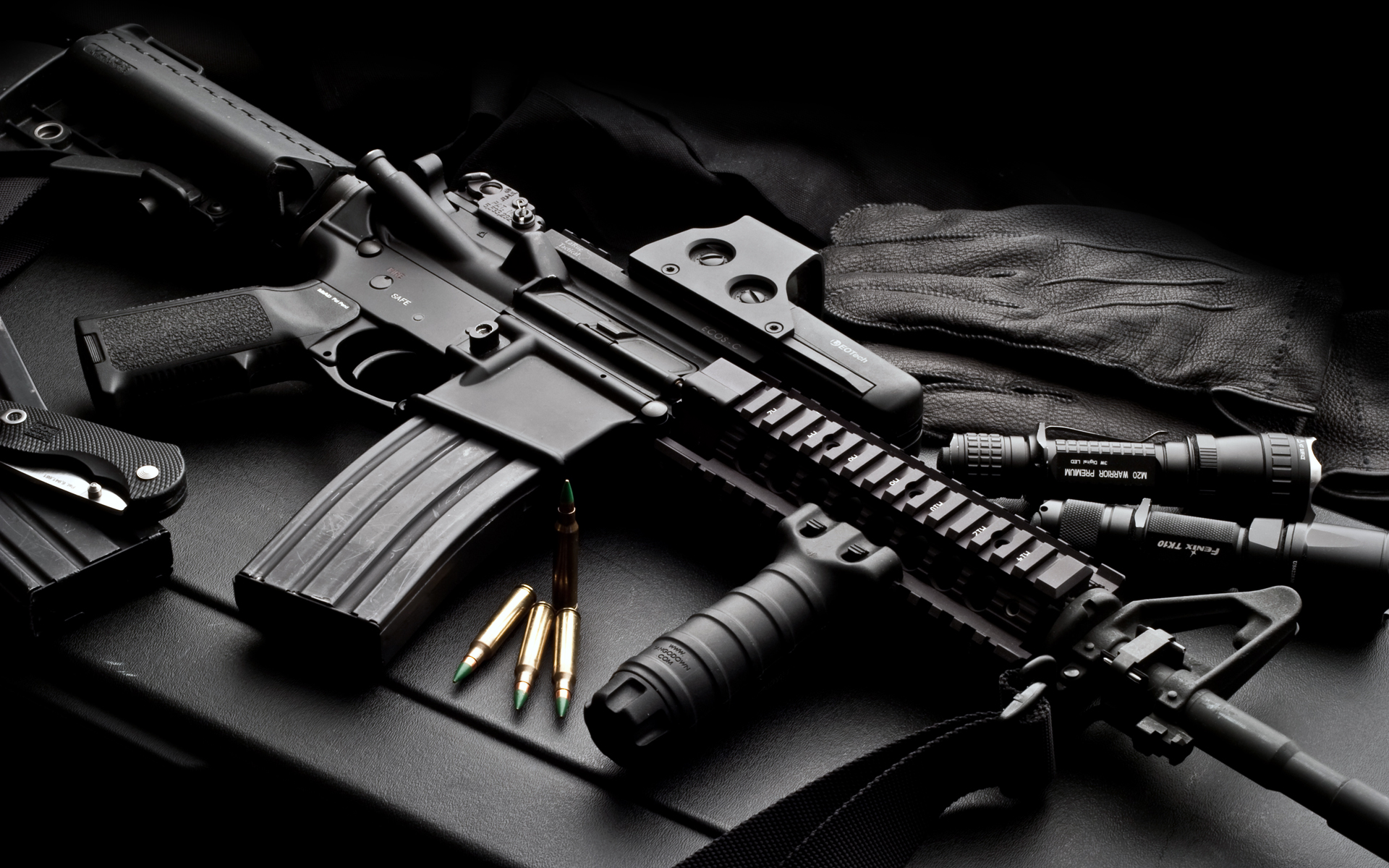 Colt AR 15 Full HD Wallpaper And Background Image