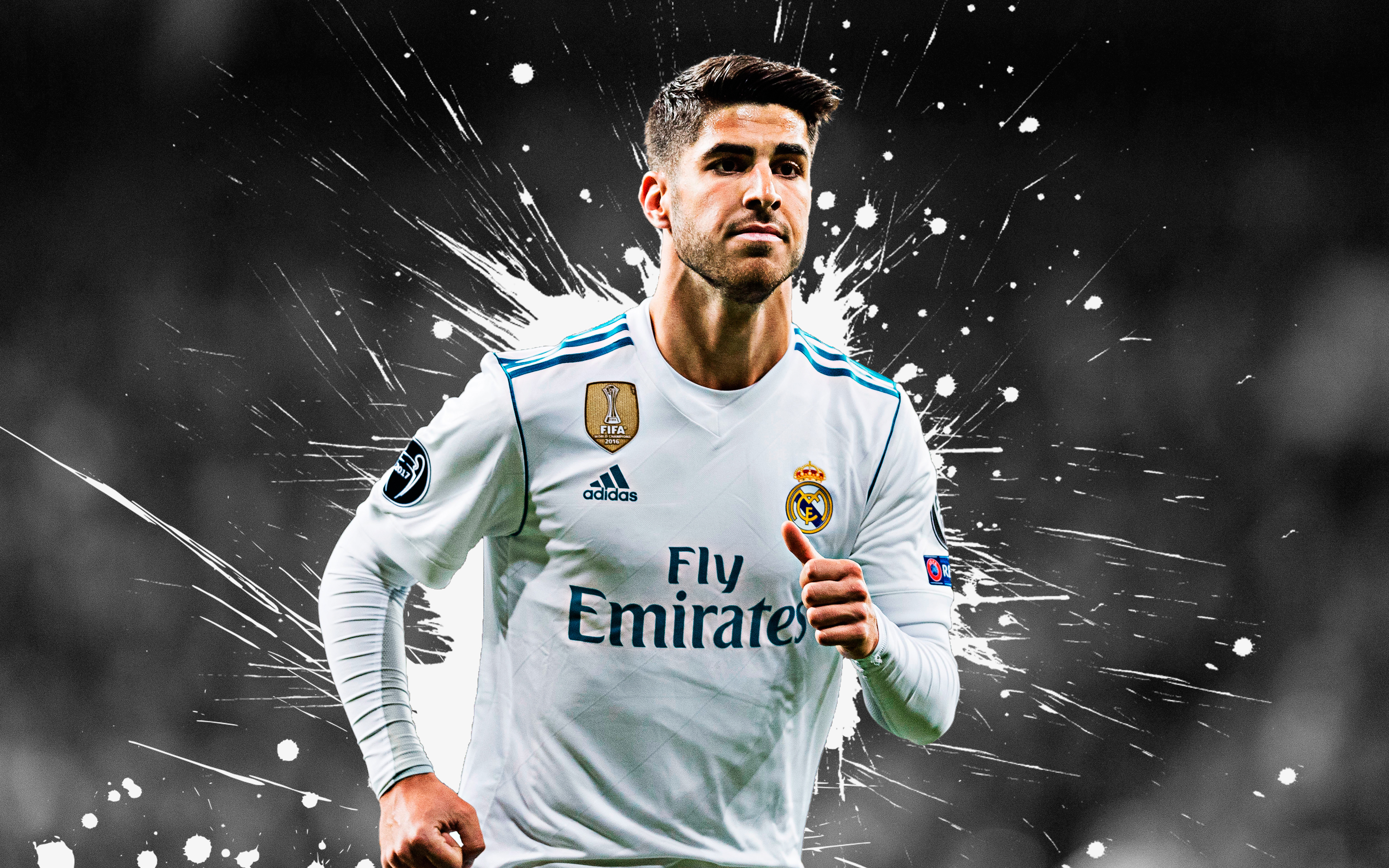 Marco Asensio Willemsen Real Madrid 4k Ultra Fondo De