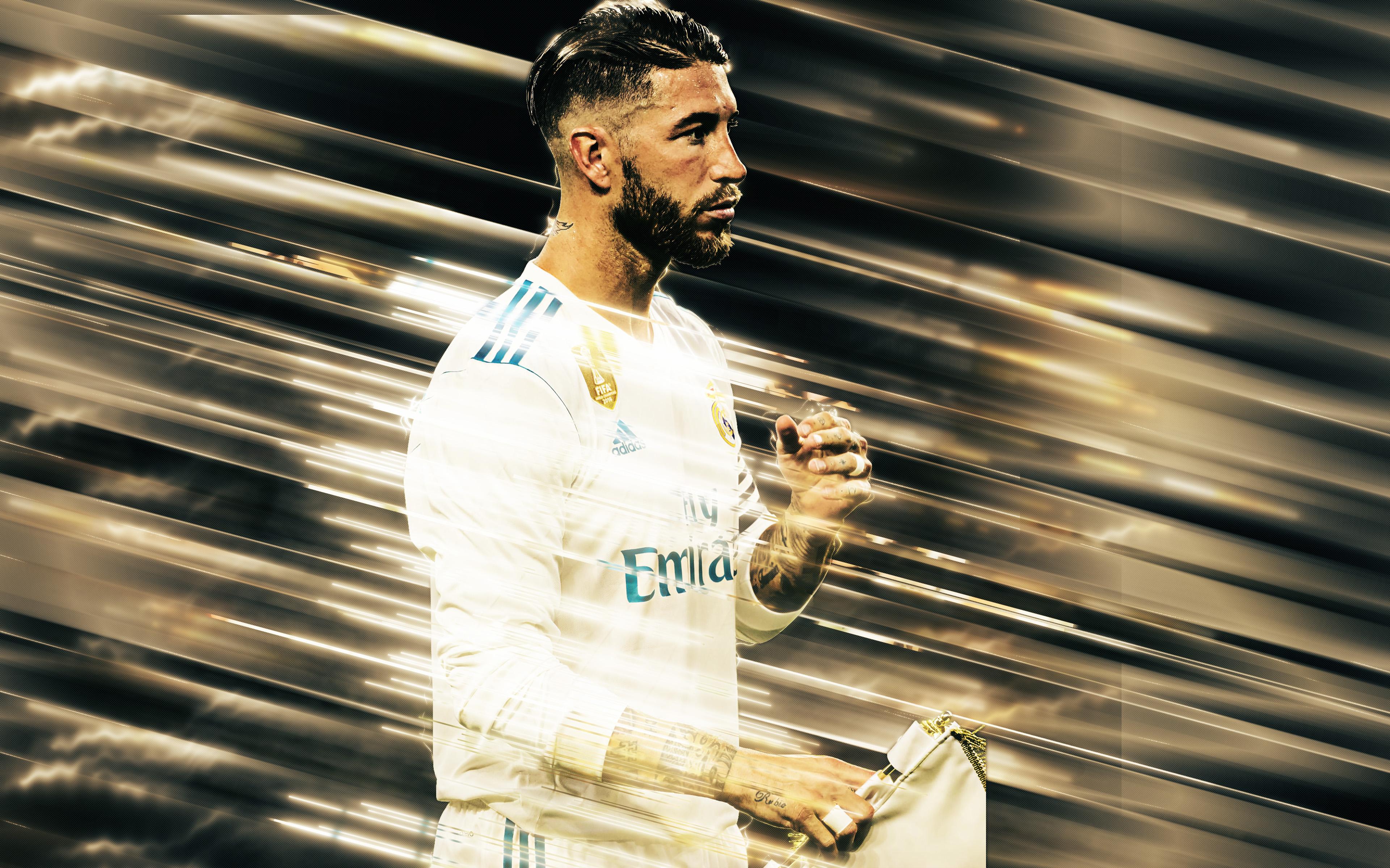 Sergio Ramos García Real Madrid 4k Ultra Hd Wallpaper