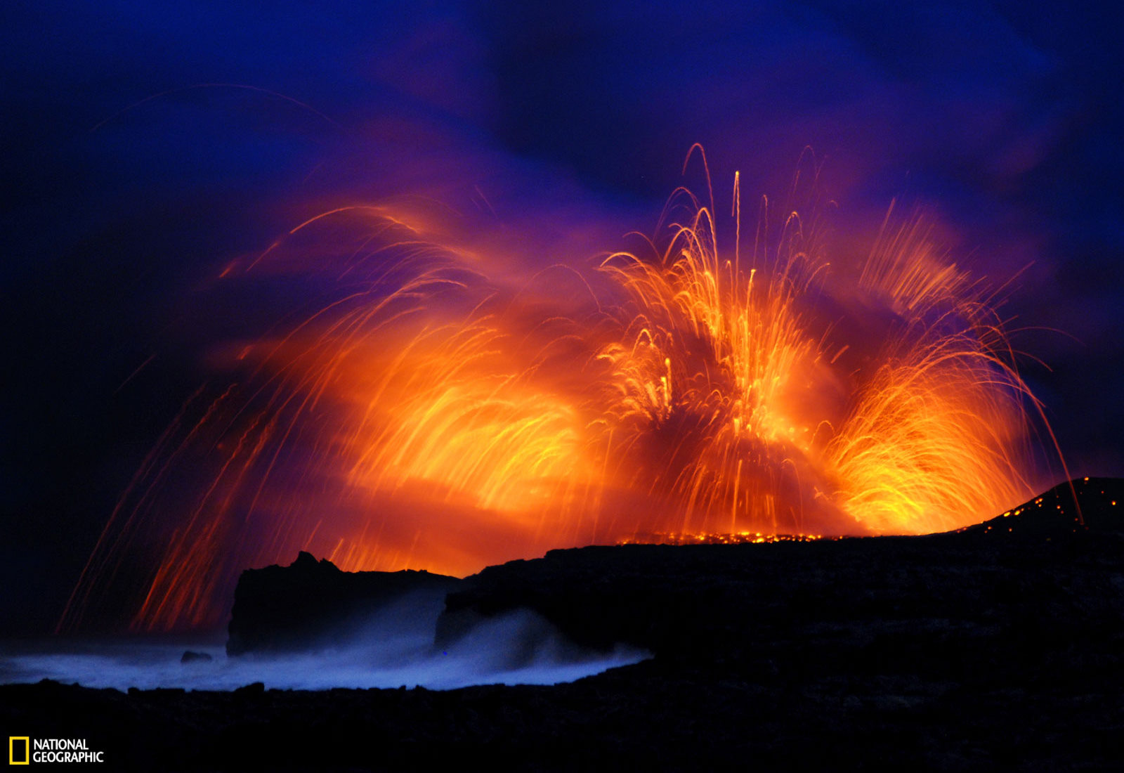 Volcano Wallpaper and Background Image  1600x1100  ID:96826