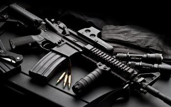 Weapons - Assault Rifle Wallpapers and Backgrounds ID : 96814