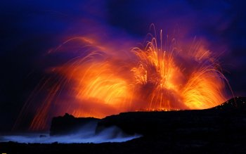 Earth - Volcano Wallpapers and Backgrounds ID : 96826