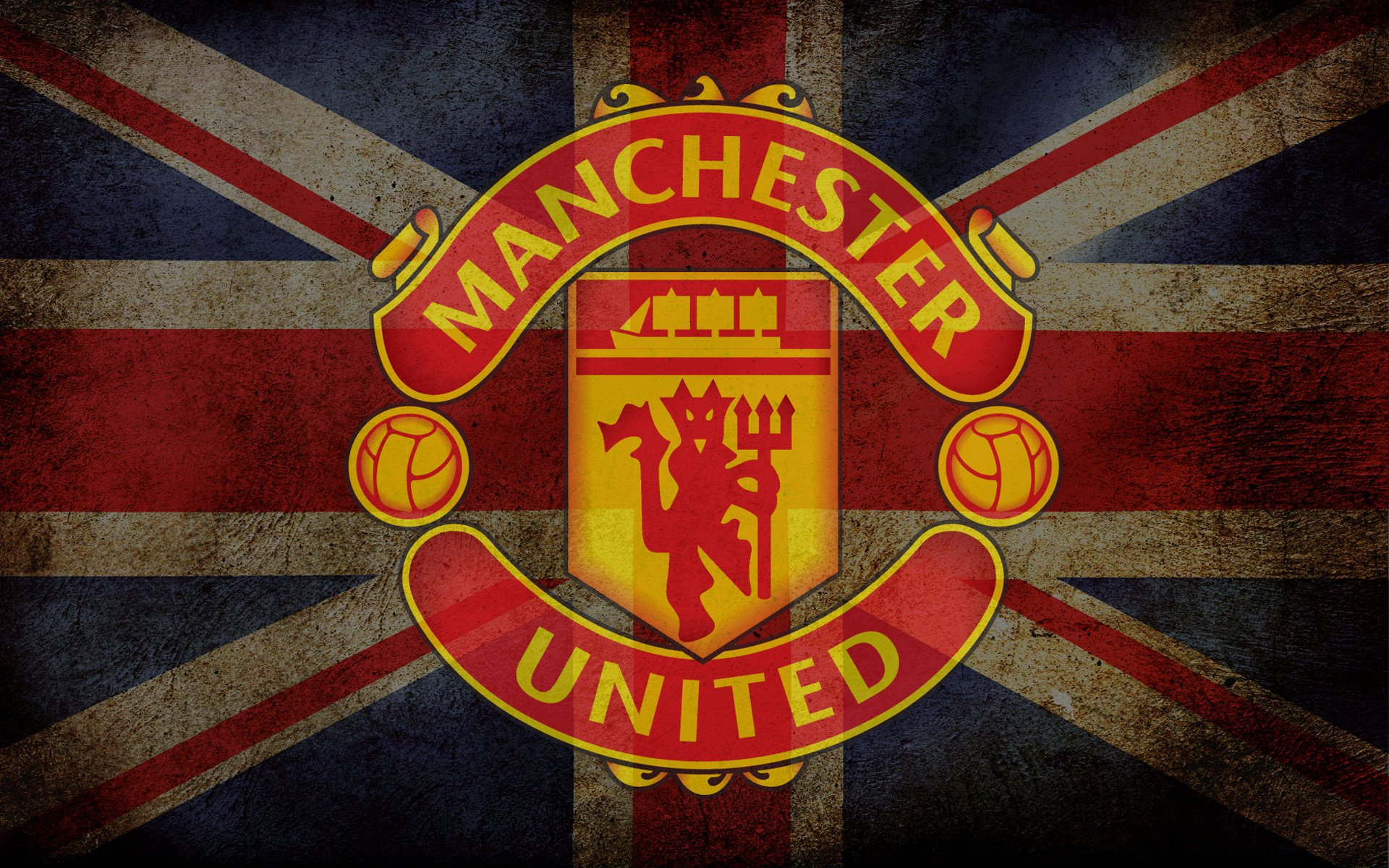 Manchester United Logo Hd Wallpaper Background Image 1920x1200 Id 969533 Wallpaper Abyss