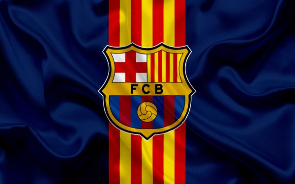 Sports FC Barcelona Soccer Club Logo HD Wallpaper | Background Image