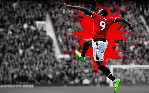 Sports Romelu Lukaku Soccer Player Belgian Manchester United F.C. HD Wallpaper | Background Image