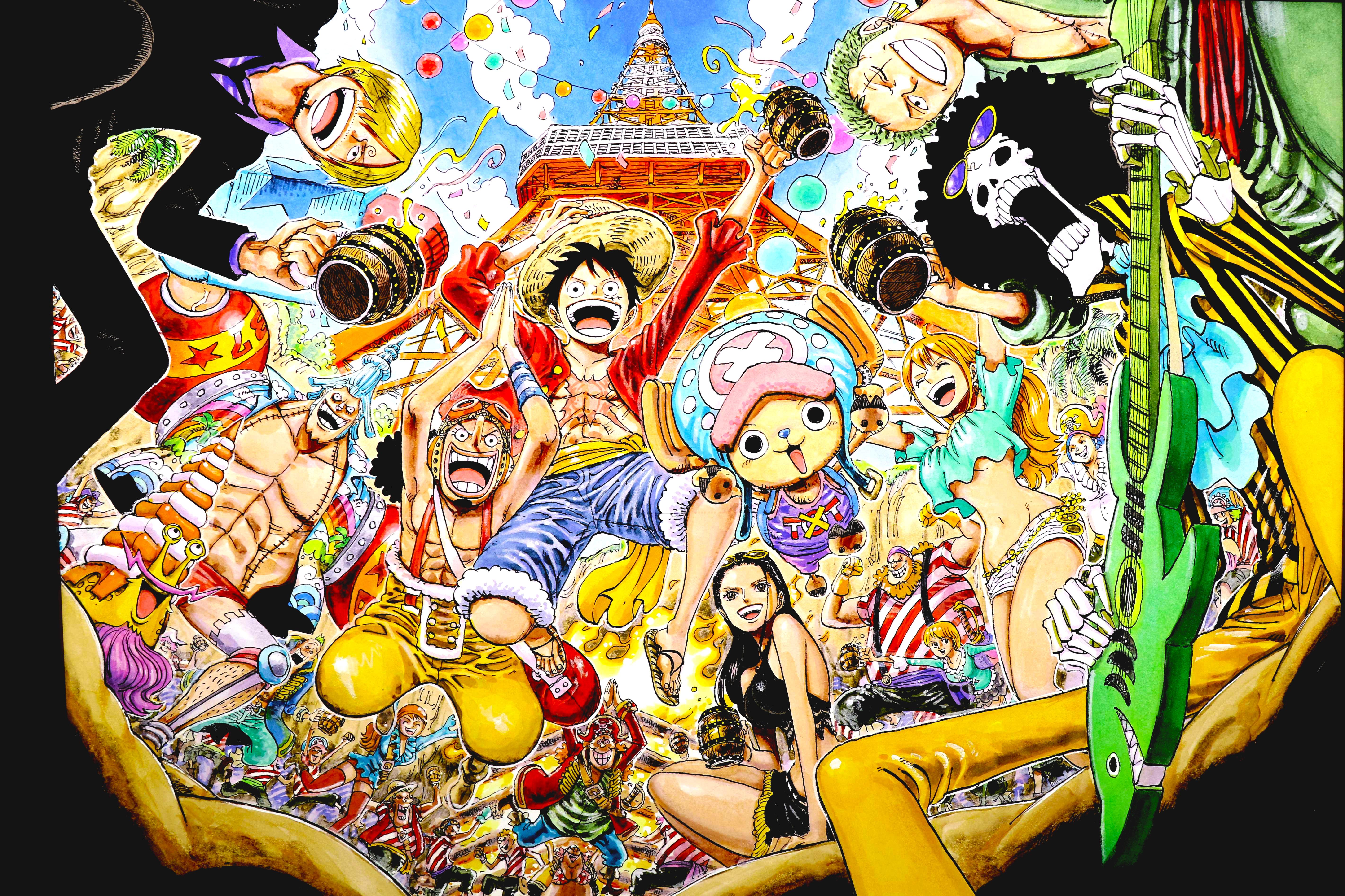 One Piece 5k Retina Ultra HD Wallpaper | Background Image | 5686x3790 | ID:971573 - Wallpaper Abyss