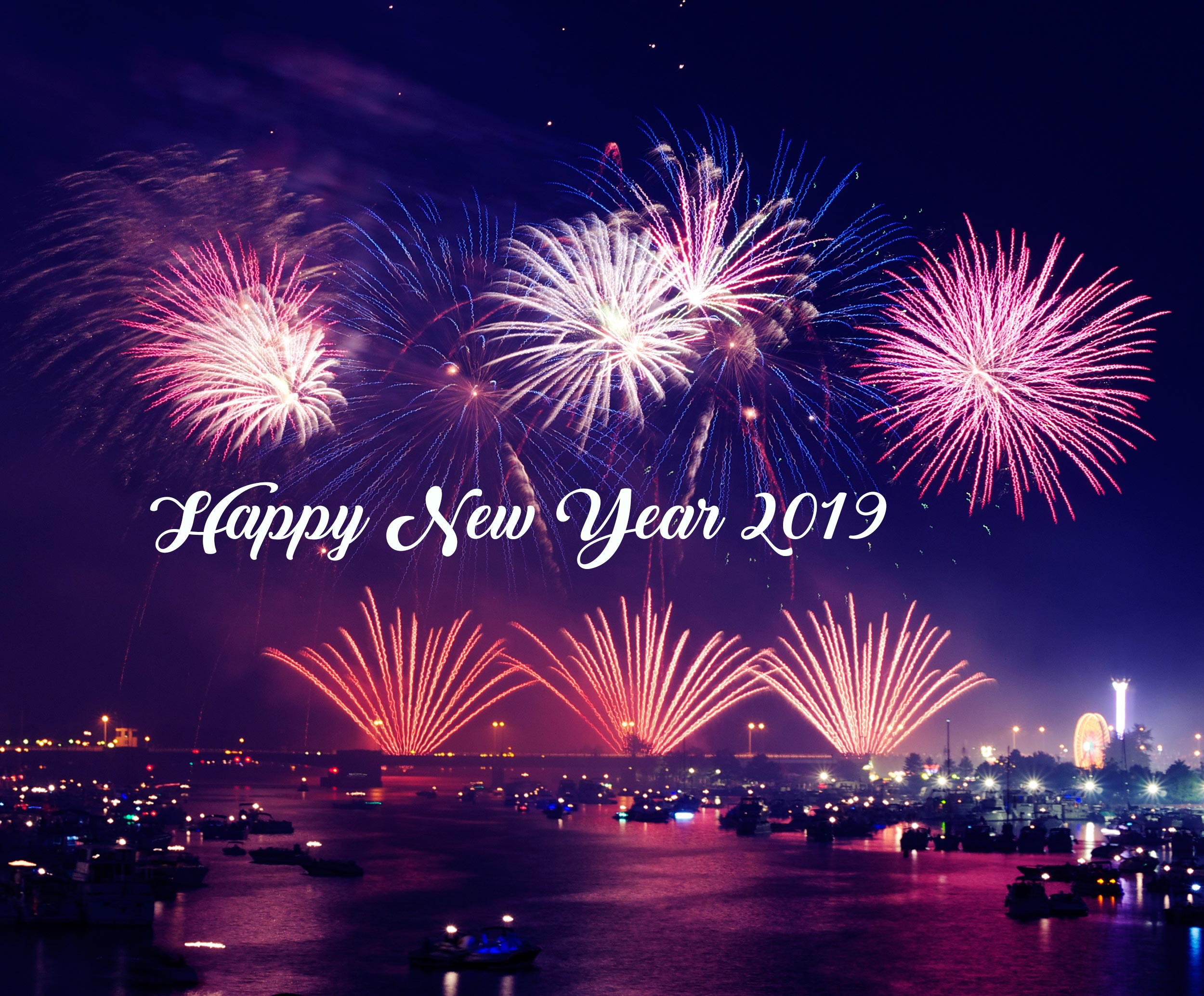 New Year 2019 Hd Wallpaper Background Image 2500x2069