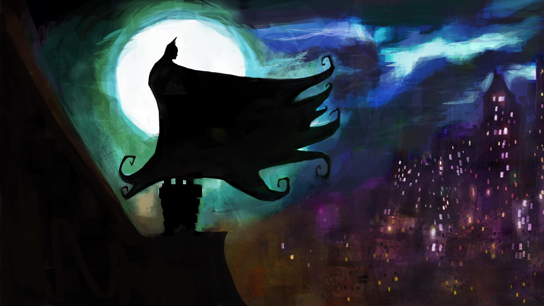 Batman Gotham Adventures 5k Retina Ultra Fondo De Pantalla