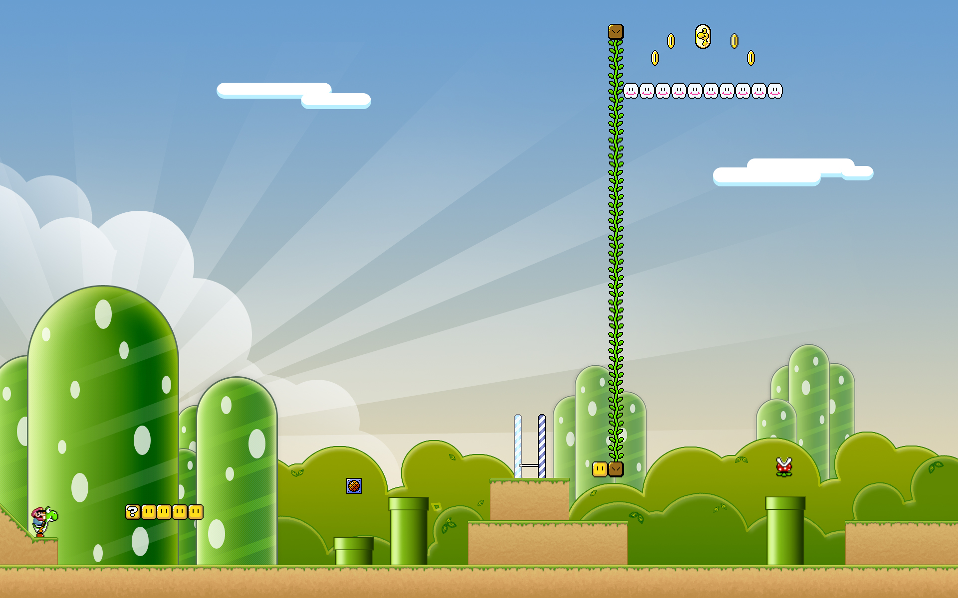 super mario bros. full hd wallpaper and background | 1920x1200