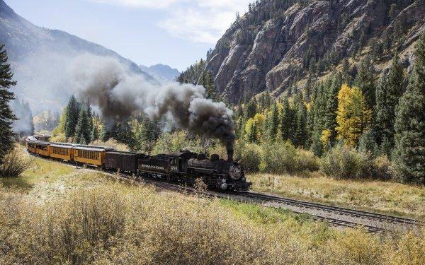 Vehicles Train Locomotive HD Wallpaper | Background Image
