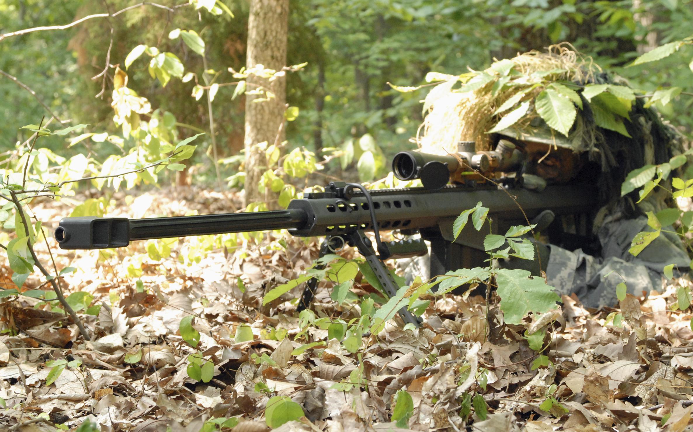 Militär - Scharfschütze  Hintergrundbild