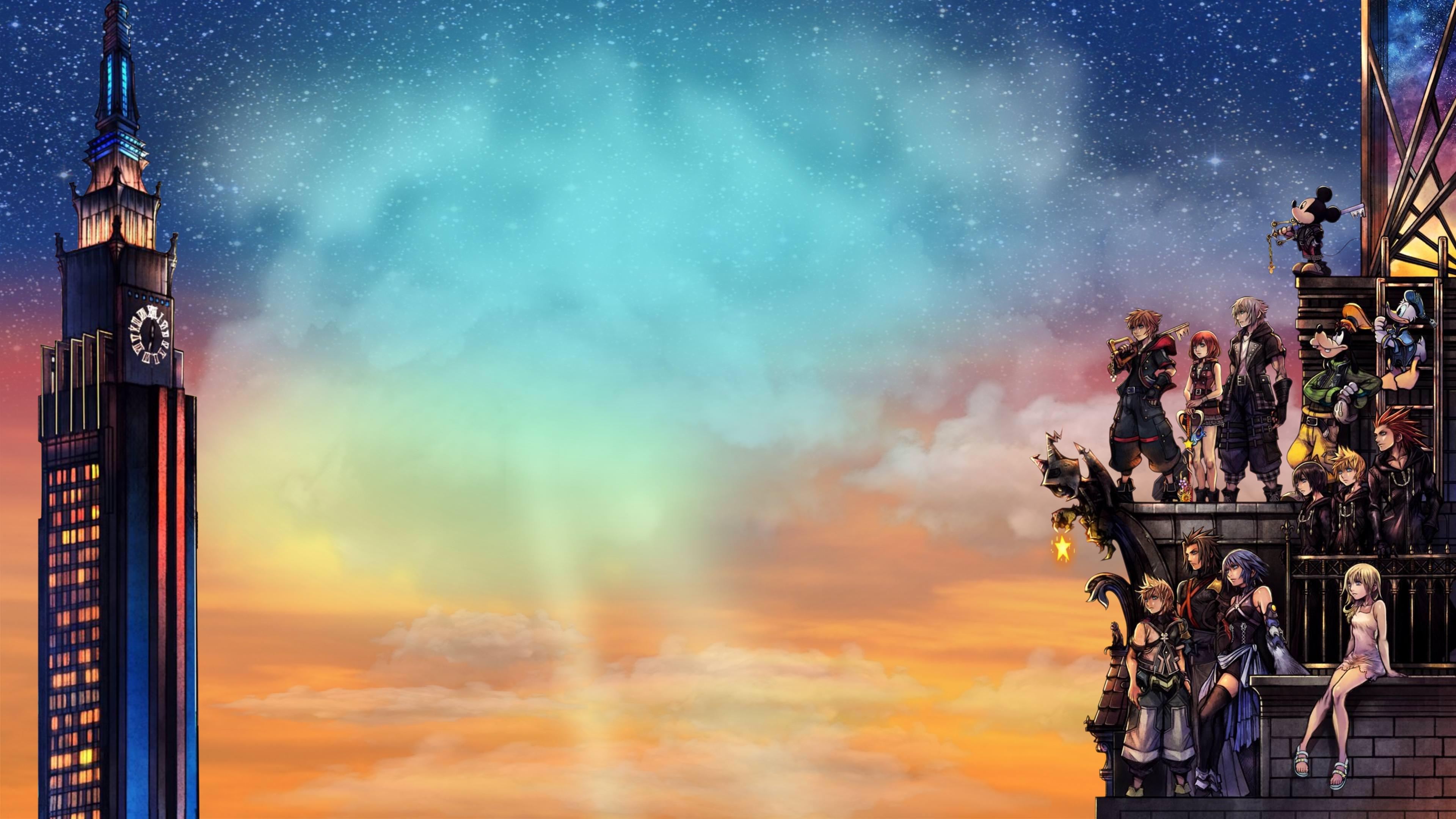 Kingdom Hearts Iii Cover Art Wallpaper 4k Ultra Hd Wallpaper
