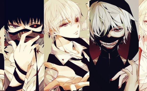 Anime Tokyo Ghoul Ken Kaneki Juuzou Suzuya Ayato Kirishima HD Wallpaper | Background Image