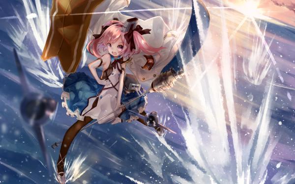 Anime Azur Lane Saratoga Dress HD Wallpaper   Background Image