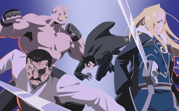 Anime FullMetal Alchemist Fullmetal Alchemist Olivier Mira Armstrong Alex Louis Armstrong Greed Wrath HD Wallpaper | Background Image