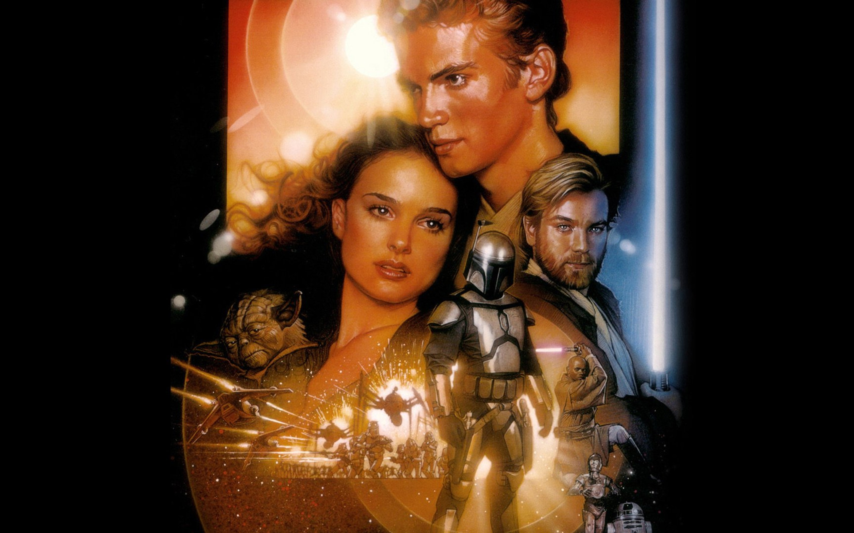 Star Wars Episode Ii Attack Of The Clones Hd Wallpaper Background Image 2880x1800 Id 977854 Wallpaper Abyss