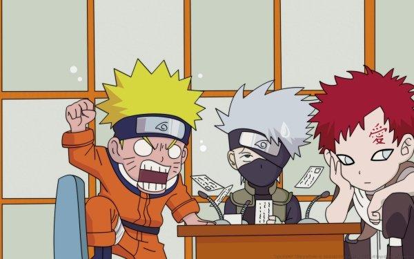 Anime Naruto Naruto Uzumaki Kakashi Hatake Gaara HD Wallpaper | Hintergrund
